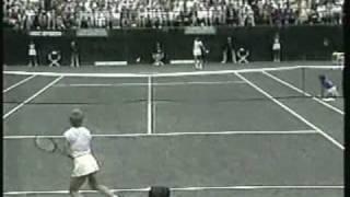 Chris Evert d. Gabriela Sabatini - 1985 Family Circle Cup (Tennis Birth of Sabatini)