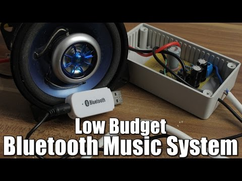 Make your own Low Budget Bluetooth Music System  OpAmp