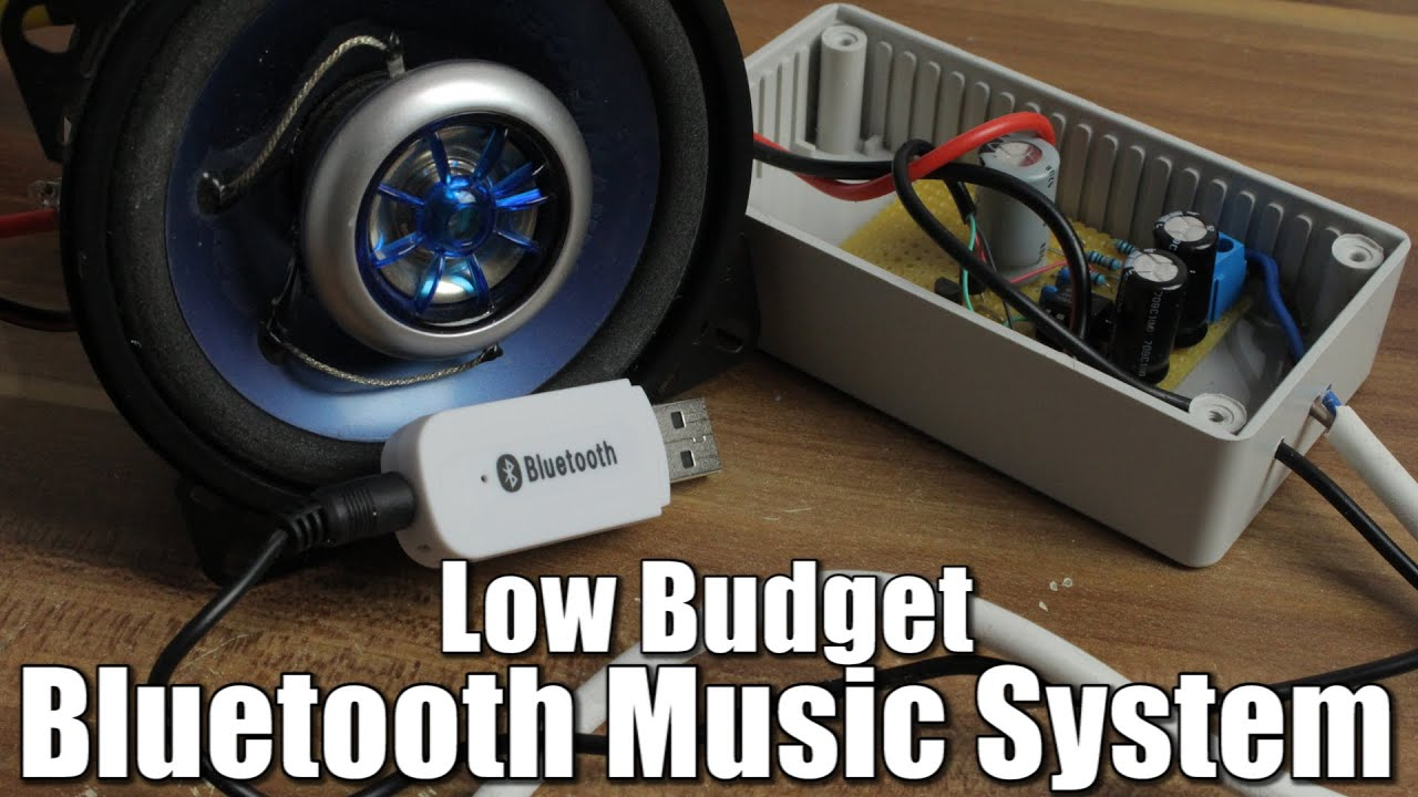 Make Your Own Low Budget Bluetooth Music System Opamp Youtube Usb Powered Stereo Computer Speaker Electroniccircuit