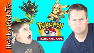 HobbyKids PlayPokemon Trading Card Game with Pikachu Libre Vs Zygarde