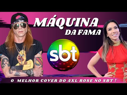 Máquina da Fama - SBT - Joel - Axl Rose & The Best Guns N 'Roses Cover - Welcome to the jungle Travel Video