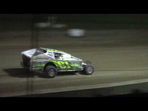 Ransomville Speedway Sportsman Feature Highlights 8-21-17