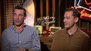 """Jon Hamm & Lewis Pullman for """"Bad Times at The El Royale"""""""