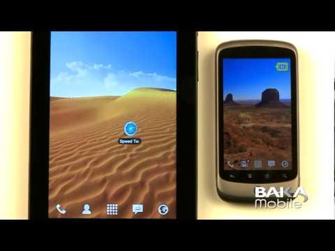 Bell HTC Desire Z HSPA+ Speed Test