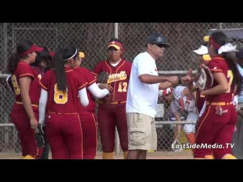 Roosevelt Rough Riders  Vs Huntington Park Spartans Softball