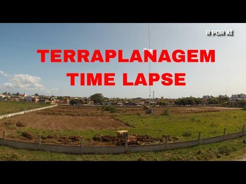 TERRAPLANAGEM DE TERRENO EM TIMELAPSE - PELOTAS