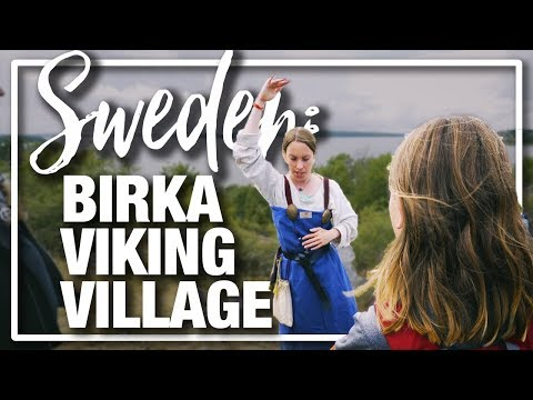Sweden: Visiting Birka Viking Village - A Living History Museum