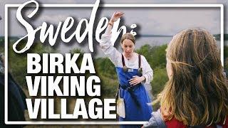 Sweden Visiting Birka Viking Village A Living History Museum