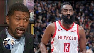 James Harden's 30-point streak 'has now become a burden' - Jalen Rose | Jalen & Jacoby