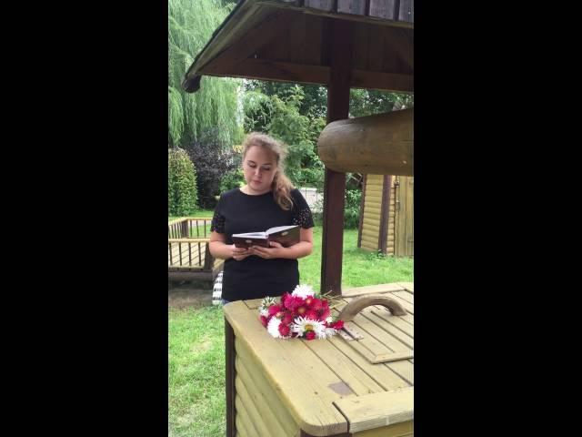 Изображение предпросмотра прочтения – АнастасияЛебедева читает произведение «Осыпаются астры в садах....» И.А.Бунина