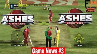 GameNews Ashesh Cricket New Cricket Game Of 2017 - 2018 Better than WCC2 & Sachin Saga