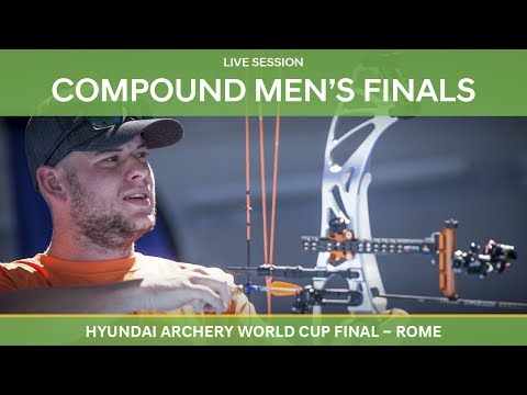 Full session: Compound Men's Finals | Rome 2017 Hyundai Archery World Cup Final
