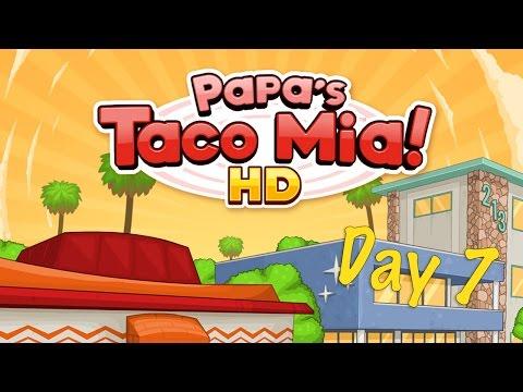 Papa's Taco Mia! HD Day 7- iOS Gameplay