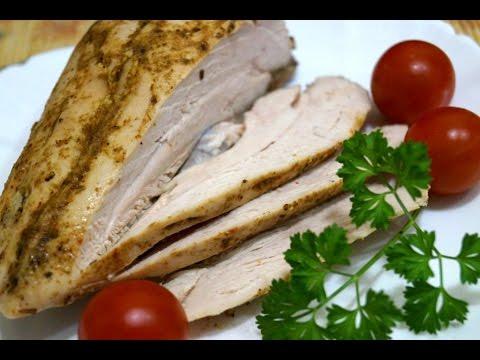 Как приготовить куриную грудку для бутербродов в духовке