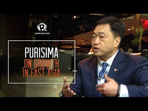 Cesar Purisima on growth in East Asia