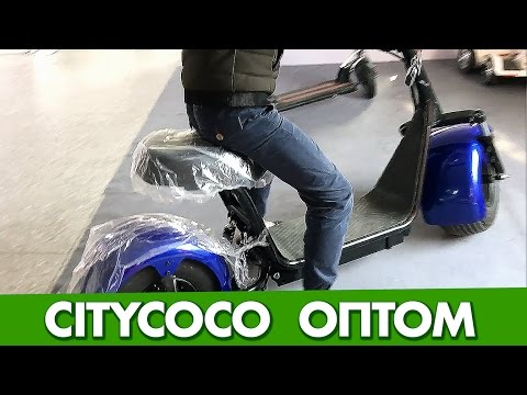 Купить в Китае электросамокаты Сити Коко оптом с фабрики Citycoco электроскутер