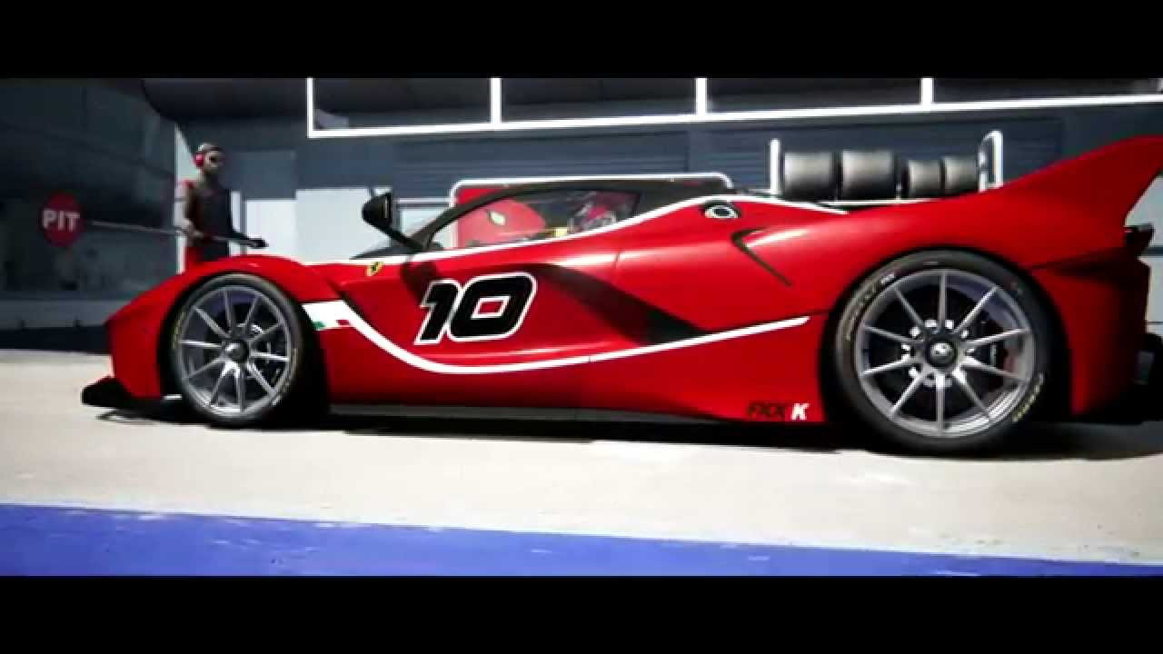 assetto corsa - ferrari fxx k 2015 - monza + download car - youtube