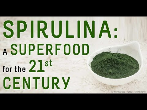 Spirulina Health Benefits a complete superfood