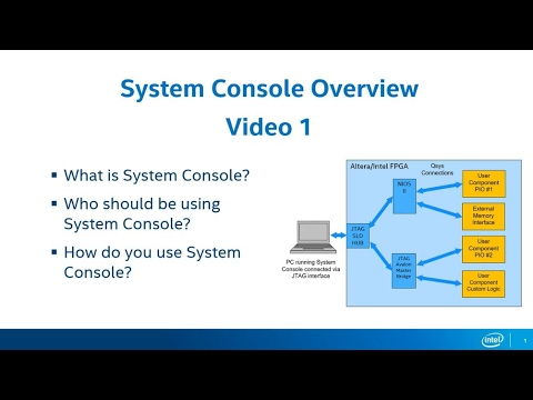 System Console - Part 1