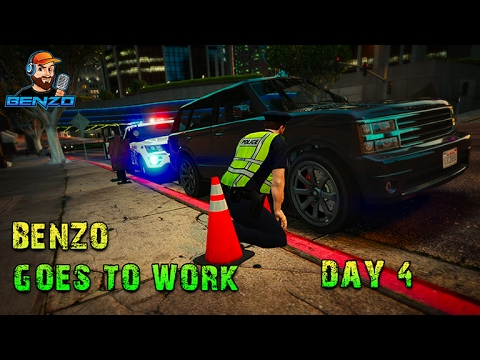 GTA 5 - Day 4 -  Parking Enforcement with PoliceToolbox - Simulation Sunday