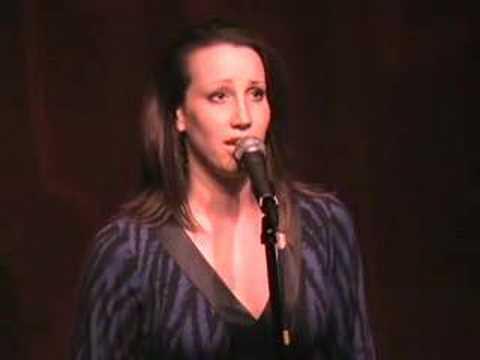"Natalie Weiss--""Say Goodbye"" by Scott Alan at Birdland"