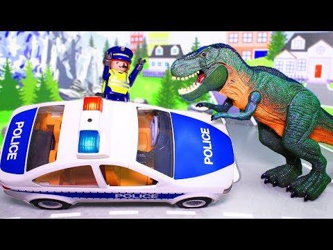Динозавры мультики с игрушками – Огнедышащий динозавр! Мультфильм для детей