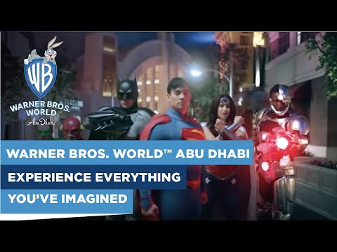 Experience everything you've imagined at Warner Bros. World™ Abu Dhabi!