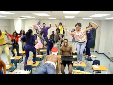 Blanche Ely Harlem Shake Video