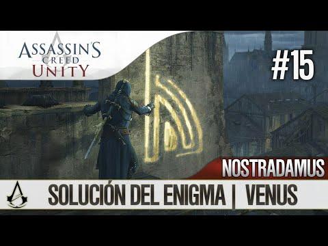 Assassin's Creed Unity | Guía en Español Walkthrough | Enigma Nostradamus | VENUS | Solución