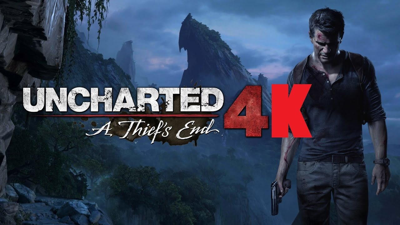Uncharted 4 Gameplay 4k Ps4 Pro Youtube