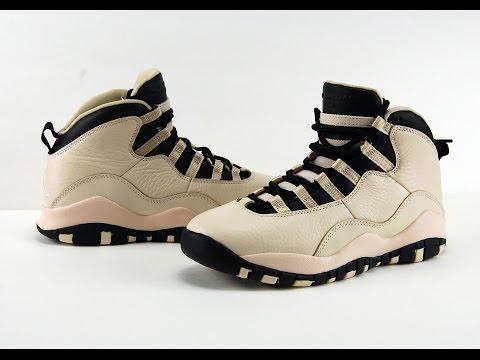 Air Jordan 10 GS Heiress Pearl White Black + On Feet
