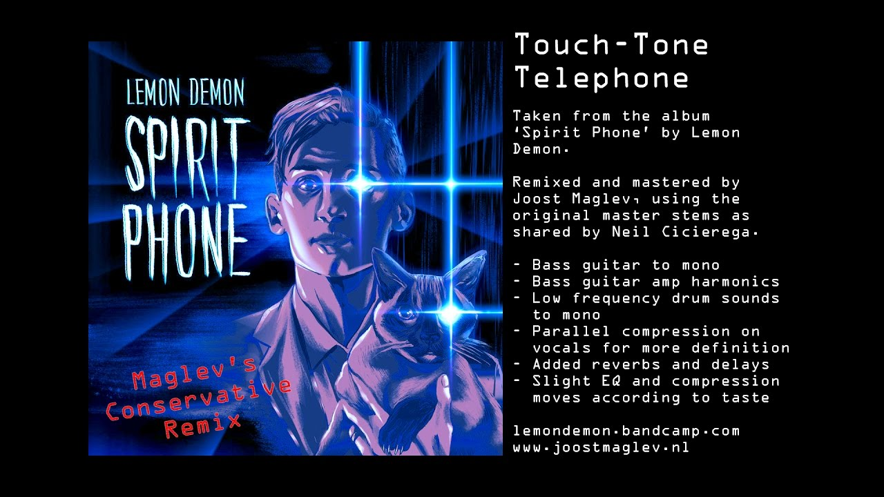 LEMON DEMON - TOUCH-TONE TELEPHONE (MAGLEV'S CONSERVATIVE MIX ...