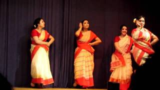 Bengali Folk Dance Performance
