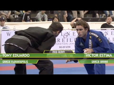 Victor Estima VS Tony Eduardo / World Championship 2009