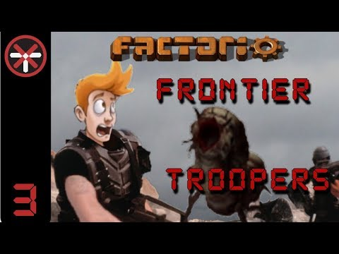Factorio Frontier Troopers - Multiplayer Deathworld Scenario EP3: BURN IT ALL | Gameplay, Lets Play