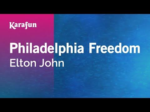 Karaoke Philadelphia Freedom - Elton John *