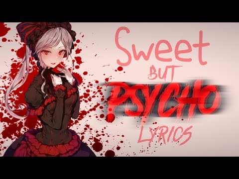 「Nightcore」- Sweet but Psycho (Ava Max / 8D Audio / Lyrics) ✔
