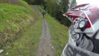 Shimano Downhill track in Åre GoPro Hero 3 2013