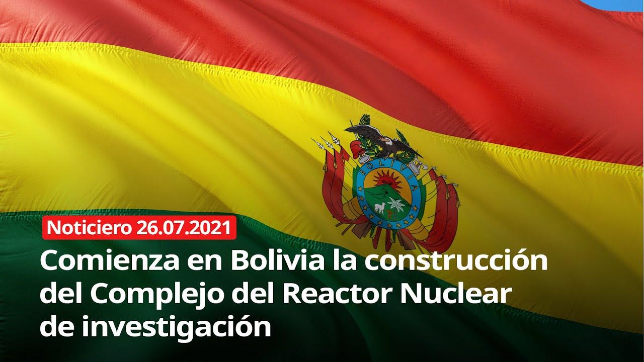 Download Comienza en Bolivia la construcción del Complejo del Reactor Nuclear de investigación - 26/07/2021