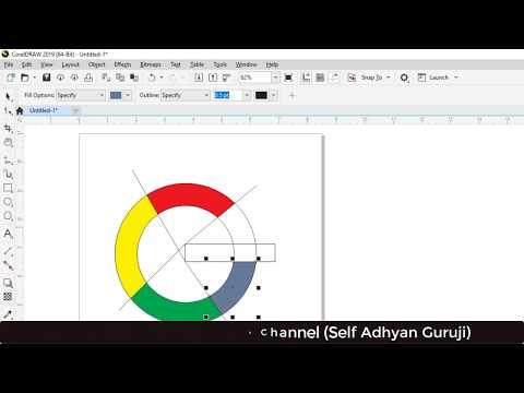 Google Logo Designing in CorelDraw 2019 - Learn Logo Designing in CorelDraw Hindi