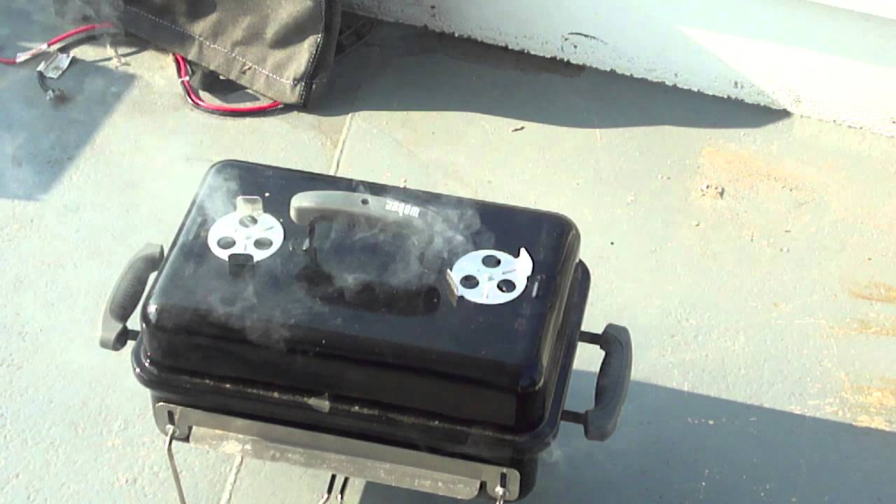 Weber Go Anywhere Grill Review   YouTube