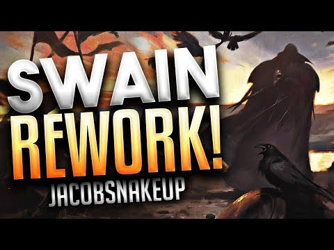 SWAIN REWORK The Noxian Grand General  GAMEPLAY 2018  | League of Legends