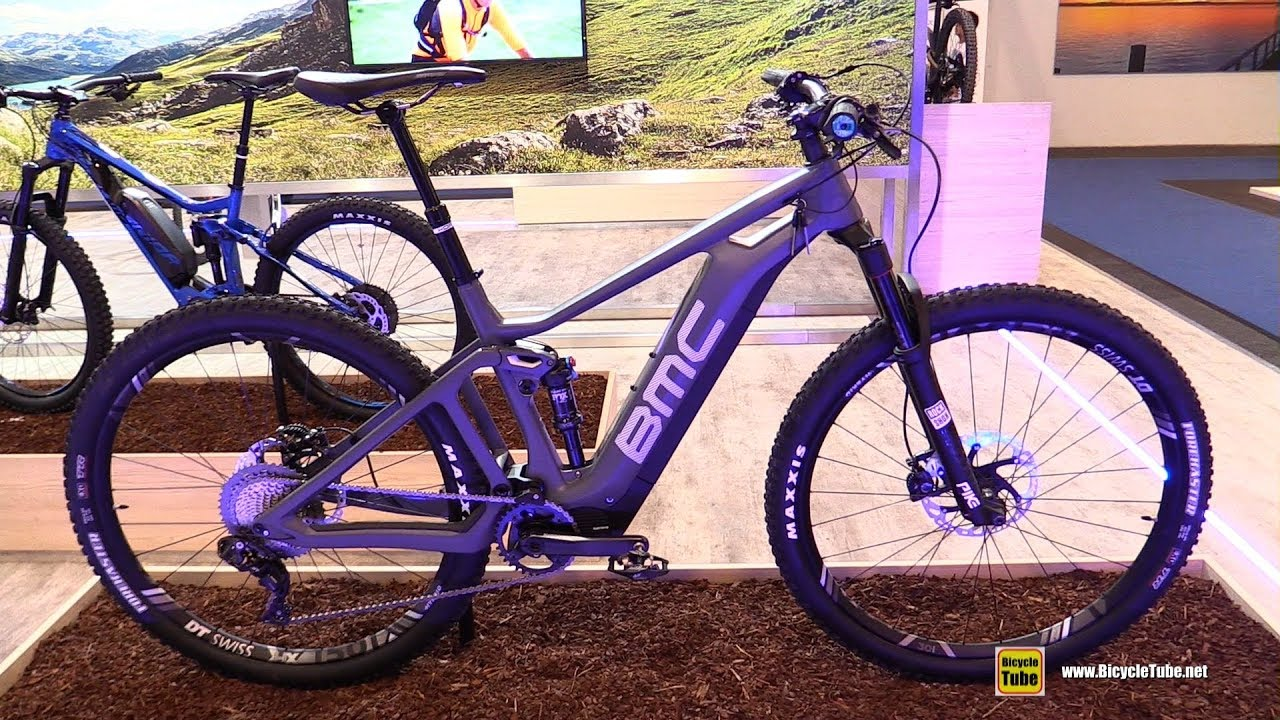 9627d495d32 2019 BMC Trailfox Amp Electric Bike - Walkaround - 2018 Eurobike ...