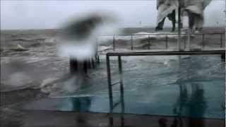 January 27 2013 QLD Australia - Ex Tropical Cyclone Oswald