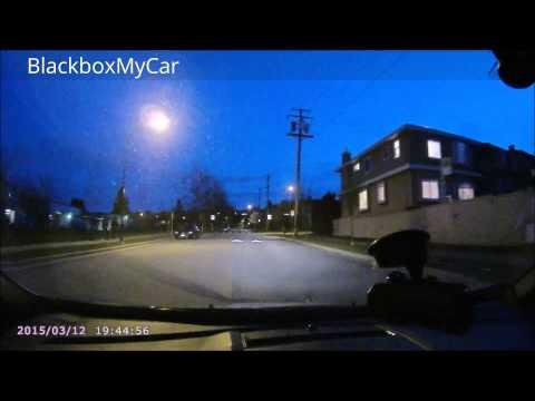 Cobra CDR 900 Dashcam DVR Day/Night Video Sample