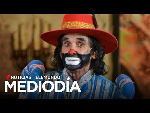 Hospitalizan al payaso 'Cepillín' tras una caída en su casa   Noticias Telemundo