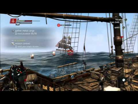Assassin's Creed 4 Black Flag Gather Metal Cargo