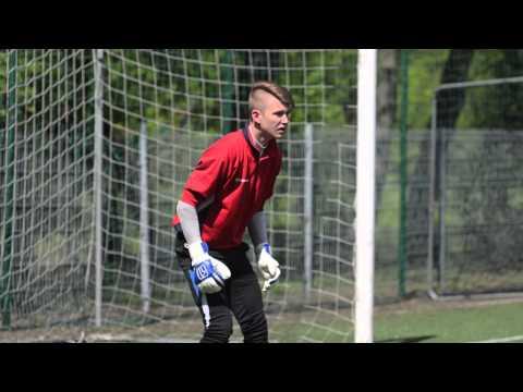 Goalkeeper training session - Kacper Polak '98 (coach: Jacek Kazimierski). Full movie