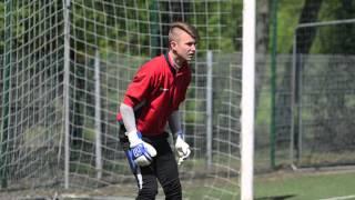 Goalkeeper training session - Kacper Polak