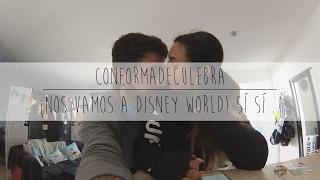 ¡Nos vamos a Disney World! Sí sí...